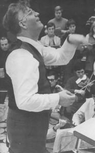 Heinz Markus Göttsche, langjähriger Chorleiter nach Adolf Graf